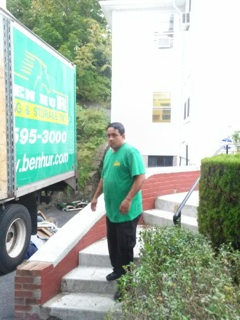 delivering a moving job to 5441 post rd bronx ny5