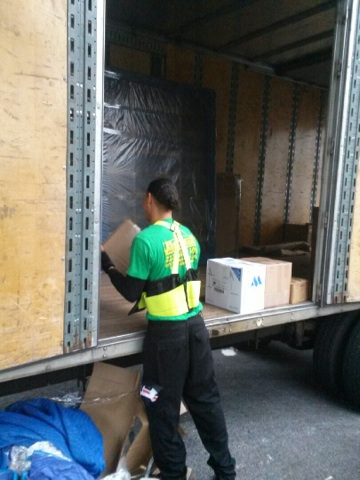 delivering a moving job to 5441 post rd bronx ny7