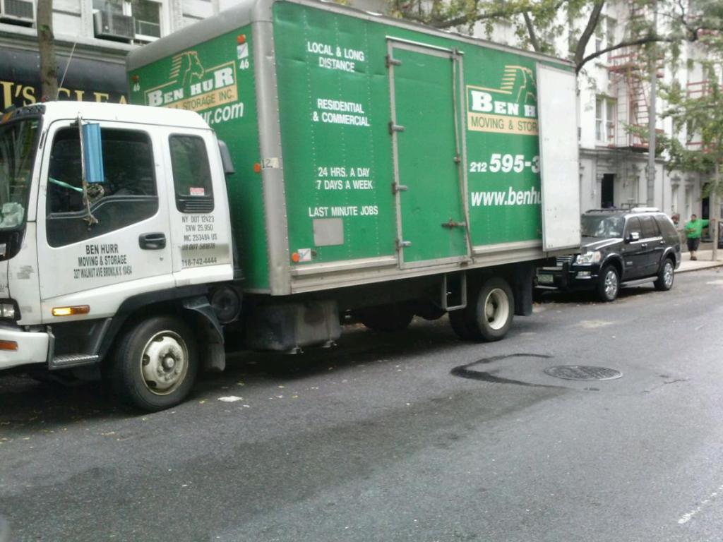 moving from 207 east 33 street NY