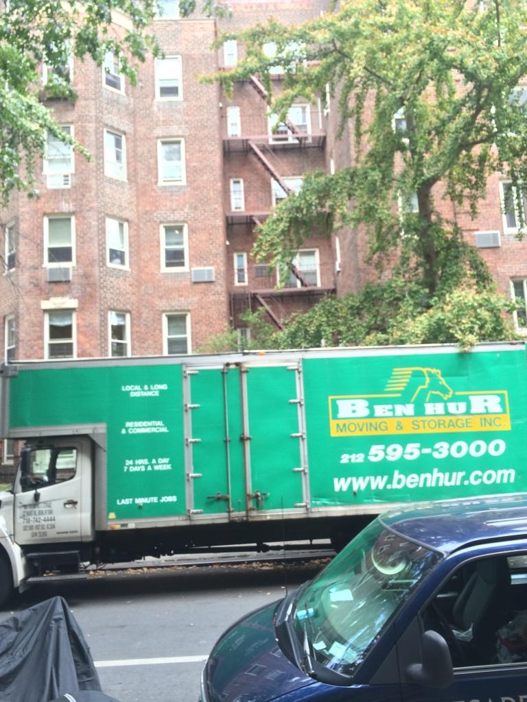move from 305 E 76 st NY