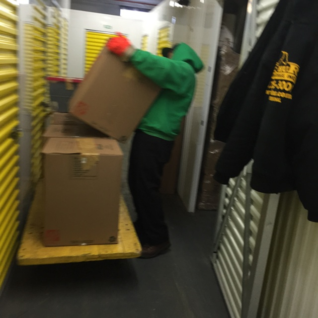 Our Crew Helping Great People Move From Our Storage Company To An Apartment  In Hartsdale, NY